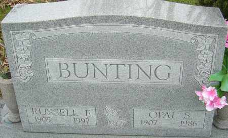 BUNTING, OPAL S - Franklin County, Ohio | OPAL S BUNTING - Ohio Gravestone Photos