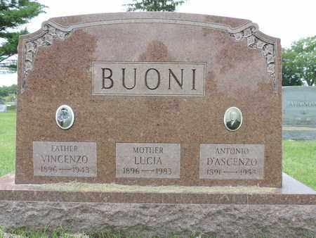 BUONI, VINCENZO - Franklin County, Ohio | VINCENZO BUONI - Ohio Gravestone Photos
