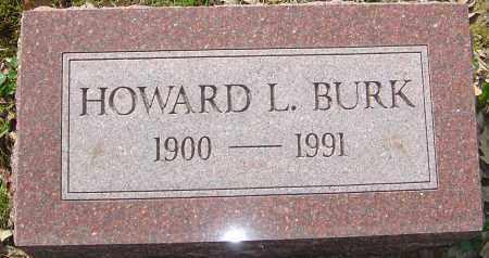 BURK, HOWARD L - Franklin County, Ohio | HOWARD L BURK - Ohio Gravestone Photos