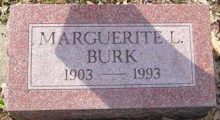 BURK, MARGUERITE L - Franklin County, Ohio   MARGUERITE L BURK - Ohio Gravestone Photos