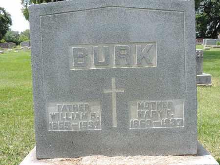 BURK, MARY F. - Franklin County, Ohio | MARY F. BURK - Ohio Gravestone Photos