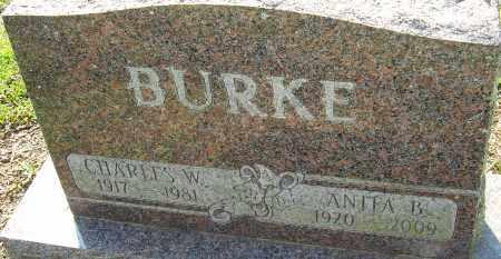 BURKE, ANITA B - Franklin County, Ohio   ANITA B BURKE - Ohio Gravestone Photos