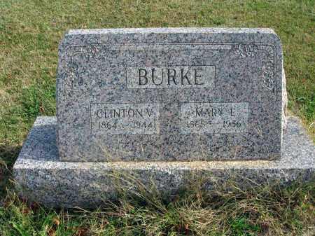 BURKE, CLINTON V. - Franklin County, Ohio | CLINTON V. BURKE - Ohio Gravestone Photos