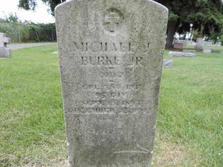 BURKE JR., MICHAEL J. - Franklin County, Ohio   MICHAEL J. BURKE JR. - Ohio Gravestone Photos