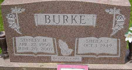 BURKE, STANLEY M - Franklin County, Ohio | STANLEY M BURKE - Ohio Gravestone Photos