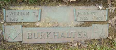 BURKHALTER, HARRIET V - Franklin County, Ohio | HARRIET V BURKHALTER - Ohio Gravestone Photos