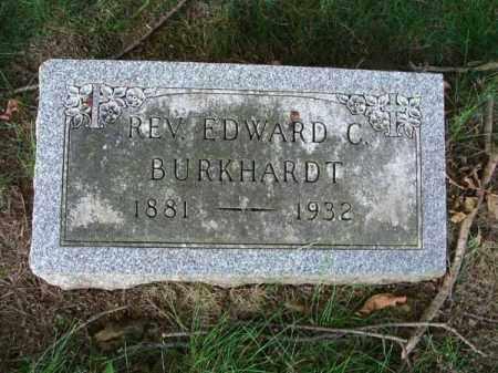 BURKHARDT, EDWARD C. - Franklin County, Ohio | EDWARD C. BURKHARDT - Ohio Gravestone Photos