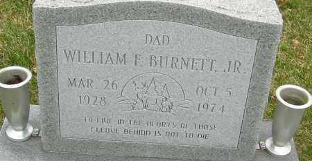 BURNETT JR., WILLIAM F - Franklin County, Ohio | WILLIAM F BURNETT JR. - Ohio Gravestone Photos