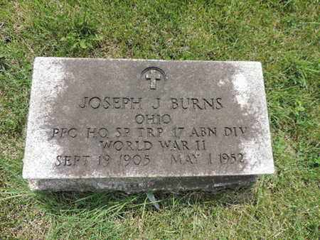 BURNS, JOSEPH J. - Franklin County, Ohio | JOSEPH J. BURNS - Ohio Gravestone Photos