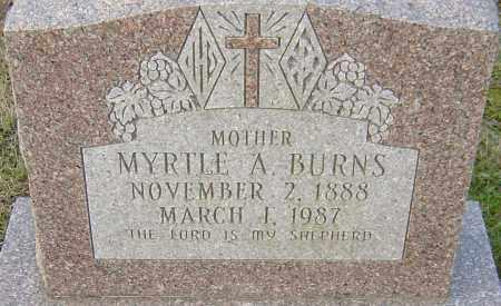 BURNS, MYRTLE - Franklin County, Ohio | MYRTLE BURNS - Ohio Gravestone Photos
