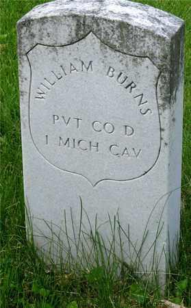 BURNS, WILLIAM - Franklin County, Ohio | WILLIAM BURNS - Ohio Gravestone Photos