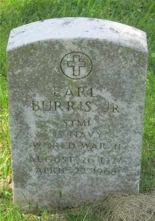 BURRIS, EARL - Franklin County, Ohio | EARL BURRIS - Ohio Gravestone Photos