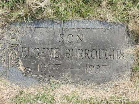 BURROUGHS, EUGENE - Franklin County, Ohio | EUGENE BURROUGHS - Ohio Gravestone Photos