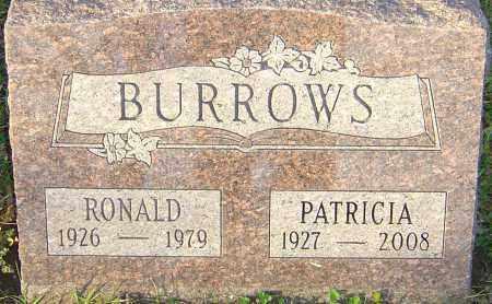 BURROWS, RONALD - Franklin County, Ohio | RONALD BURROWS - Ohio Gravestone Photos