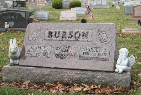 BURSON, C DALE - Franklin County, Ohio | C DALE BURSON - Ohio Gravestone Photos