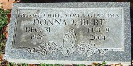 JUSTICE BURT, DONNA JEAN - Franklin County, Ohio   DONNA JEAN JUSTICE BURT - Ohio Gravestone Photos