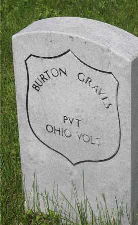 BURTON, GRAVES - Franklin County, Ohio | GRAVES BURTON - Ohio Gravestone Photos