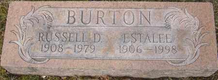 BURTON, ESTALEE - Franklin County, Ohio | ESTALEE BURTON - Ohio Gravestone Photos