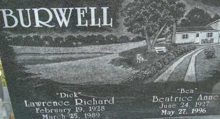 BURWELL, BEATRICE ANNE - Franklin County, Ohio | BEATRICE ANNE BURWELL - Ohio Gravestone Photos