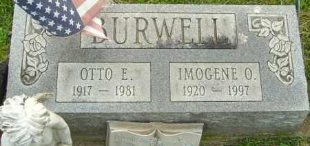 BURWELL, IMOGENE O - Franklin County, Ohio | IMOGENE O BURWELL - Ohio Gravestone Photos
