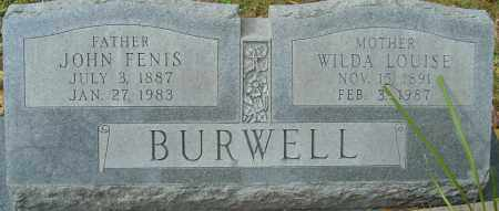 ALEXANDER BURWELL, WILDA LOUISE - Franklin County, Ohio | WILDA LOUISE ALEXANDER BURWELL - Ohio Gravestone Photos