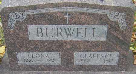 BURWELL, LEONA - Franklin County, Ohio | LEONA BURWELL - Ohio Gravestone Photos