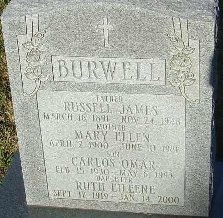 BURWELL, CARLOS OMAR - Franklin County, Ohio | CARLOS OMAR BURWELL - Ohio Gravestone Photos