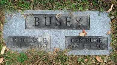 BUSEY, GERTRUDE - Franklin County, Ohio | GERTRUDE BUSEY - Ohio Gravestone Photos