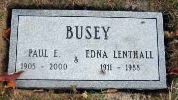 BUSEY, EDNA - Franklin County, Ohio | EDNA BUSEY - Ohio Gravestone Photos