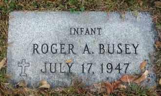 BUSEY, ROGER A. - Franklin County, Ohio   ROGER A. BUSEY - Ohio Gravestone Photos