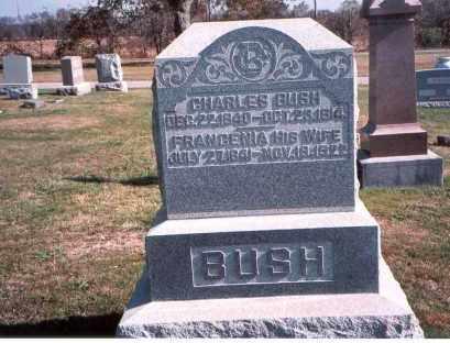 BUSH, CHARLES - Franklin County, Ohio | CHARLES BUSH - Ohio Gravestone Photos