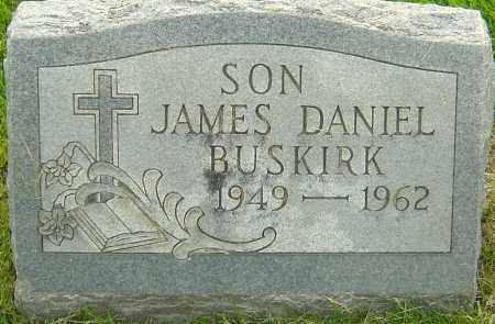 BUSKIRK, JAMES DANIEL - Franklin County, Ohio | JAMES DANIEL BUSKIRK - Ohio Gravestone Photos