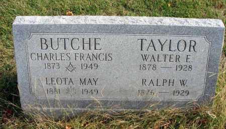 TAYLOR, WALTER E. - Franklin County, Ohio | WALTER E. TAYLOR - Ohio Gravestone Photos
