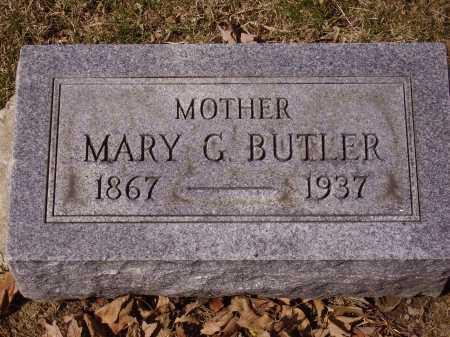 BUTLER, MARY G. - Franklin County, Ohio   MARY G. BUTLER - Ohio Gravestone Photos