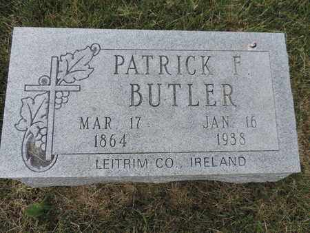 BUTLER, PATRICK F. - Franklin County, Ohio   PATRICK F. BUTLER - Ohio Gravestone Photos