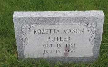 BUTLER, ROZETTA - Franklin County, Ohio   ROZETTA BUTLER - Ohio Gravestone Photos
