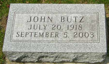 BUTZ, JOHN - Franklin County, Ohio | JOHN BUTZ - Ohio Gravestone Photos