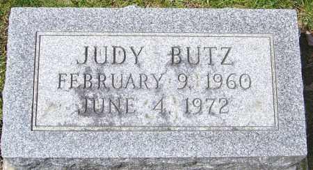 BUTZ, JUDY - Franklin County, Ohio   JUDY BUTZ - Ohio Gravestone Photos