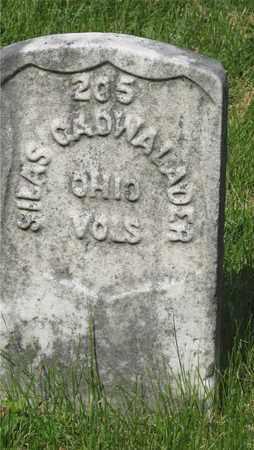 CADWALADER, SILAS - Franklin County, Ohio | SILAS CADWALADER - Ohio Gravestone Photos