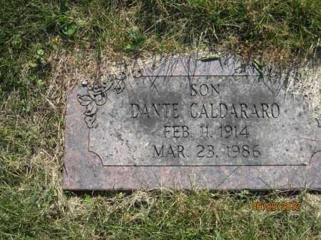 CALDARARO, DANTE LUTHER - Franklin County, Ohio | DANTE LUTHER CALDARARO - Ohio Gravestone Photos
