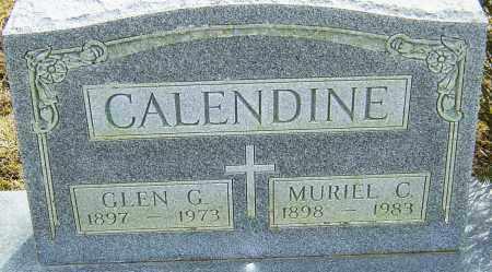 CALENDINE, MURIEL C - Franklin County, Ohio | MURIEL C CALENDINE - Ohio Gravestone Photos