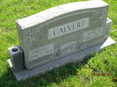 CALVERT, JESSE - Franklin County, Ohio | JESSE CALVERT - Ohio Gravestone Photos