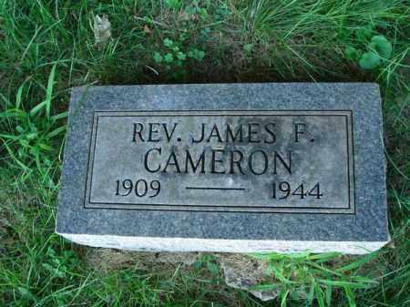 CAMERON, JAMES F. - Franklin County, Ohio   JAMES F. CAMERON - Ohio Gravestone Photos