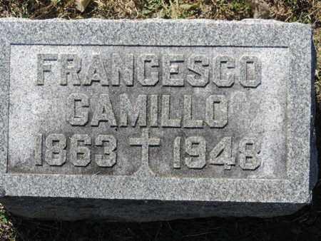 CAMILLO, FRANCESCO - Franklin County, Ohio | FRANCESCO CAMILLO - Ohio Gravestone Photos