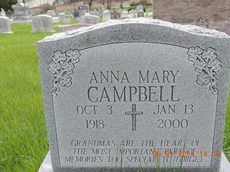 CAMPBELL, ANNA MARY - Franklin County, Ohio | ANNA MARY CAMPBELL - Ohio Gravestone Photos