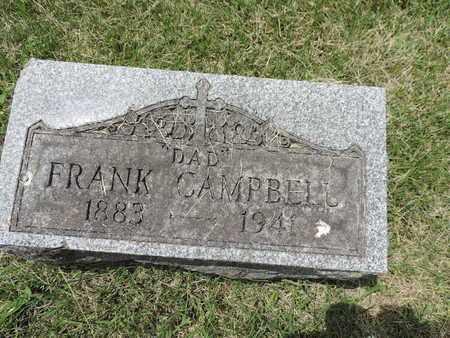 CAMPBELL, FRANK - Franklin County, Ohio | FRANK CAMPBELL - Ohio Gravestone Photos