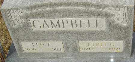CAMPBELL, ETHEL G - Franklin County, Ohio | ETHEL G CAMPBELL - Ohio Gravestone Photos