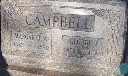 CAMPBELL, GEORGE A - Franklin County, Ohio | GEORGE A CAMPBELL - Ohio Gravestone Photos