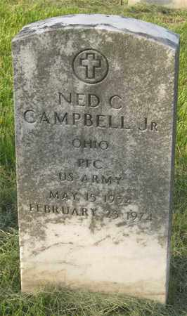 CAMPBELL, NED C - Franklin County, Ohio   NED C CAMPBELL - Ohio Gravestone Photos