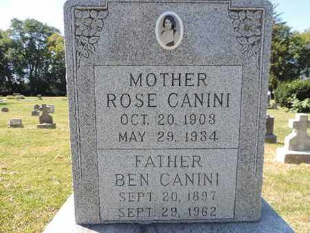 CANINI, BEN - Franklin County, Ohio | BEN CANINI - Ohio Gravestone Photos